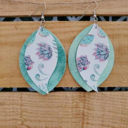 Boho Earrings, Floral Earrings, Min..