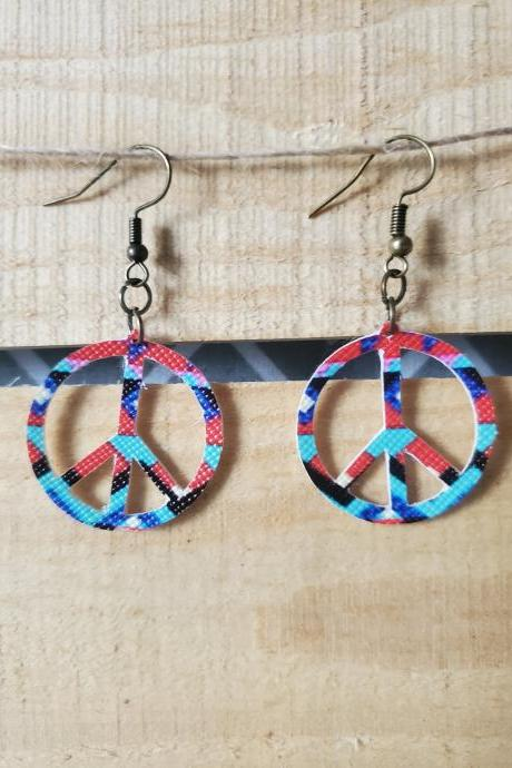 Aztec Boho Earrings, Hippie Southwestern Jewelry, Hippie Earrings, Bohemian Jewelry, Trendy Jewelry, Dangle Earrings, Cute Earrings,